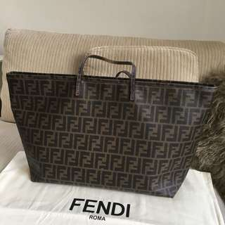Fendi Bag with zipper closure  (Large)