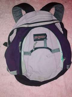 Authentic Jansport Purple Backpack