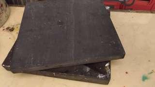 🚚 硯台附蓋購於蕙風堂還是正大光明二手17.5cm*17.5cm,高2.5cm