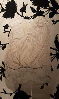 Max studio blouse size medium