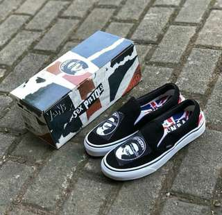 Vans Slip On x Sex Pistols