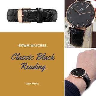 DW Classic Black Reading (36/40mm)