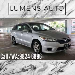 Honda Stream - Car Rental for Grab/Personal use