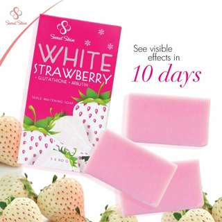 White Strawberry Gluthathione