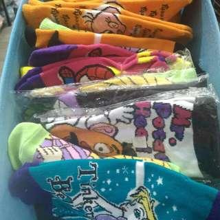 Kids Assorted Cartoon Socks