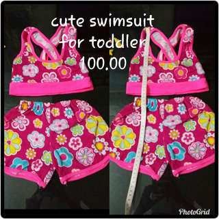 Cute swimsuit for toddler