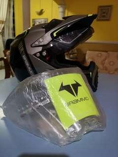 Adult Motocross Helmet Motocycle Helmet Men WomenSports Motorcycle ATV Dirt Bike Racing Moto Full Face Racing Helmet. Size M