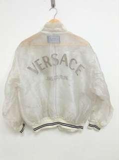 VERSACE Jeans Couture Vintage Rare Transparent Organza