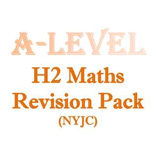2016 - 2017 NYJC H2 Maths Topical Revision Package / H2 Maths / H2 Math / H2 Mathematics / 9758 / New Syllabus / JC1 / JC2 / exam papers / Nanyang Junior College / NYJC