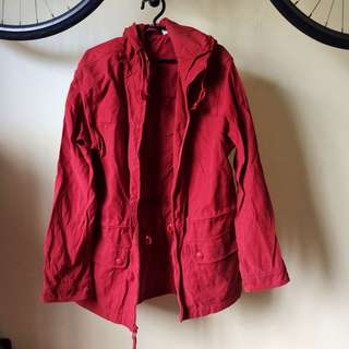 Tangerine Parka Jacket