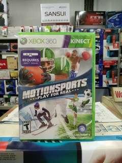 🆕 Xbox360 Motion Sports
