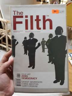 Vertigo comics THE FILTH #7