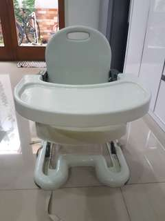 Booster to toddler seat