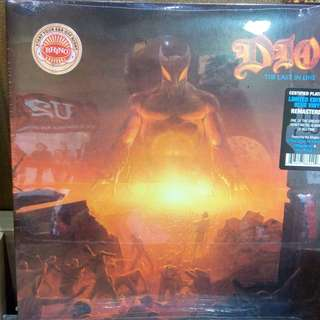 Dio - Last in Line limited edition Blue vinyl