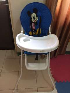 Mickey Mouse Baby High Chair