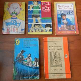 Various Books Suitable for Kids