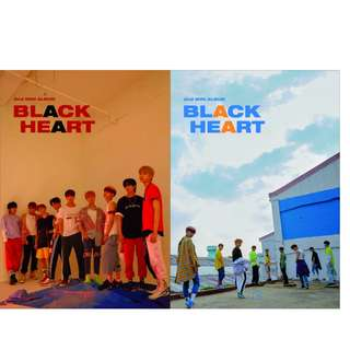 [未拆專] UNB第二張Mini Album [BLACK HEART]  (Black Ver/ Heart Ver)