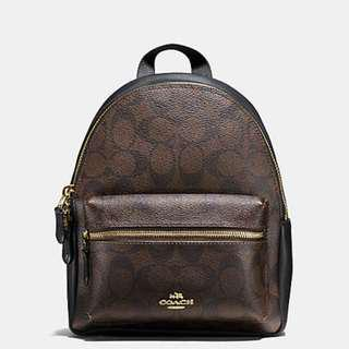 Coach mini backpack original