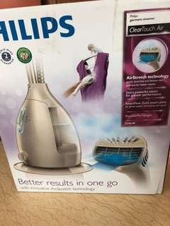 Philips ClearTouch Air 蒸氣掛熨機 GC568/60 | Philips