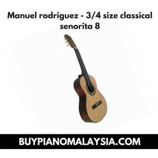 Manuel rodriguez - 3/4 size classical senorita 8