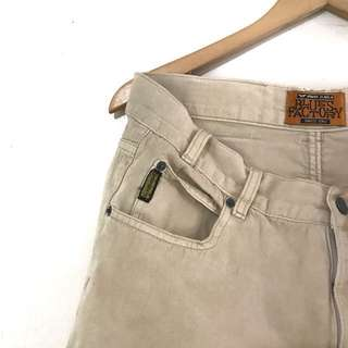 """ARMANI JEANS """"Blue Factory"""" Straight Chinos"""