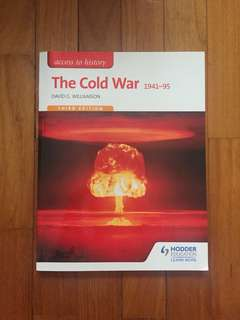 Cold War History Textbook - Hodder Education