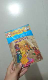 Thea stilton book ( thea stilton and the secret city )
