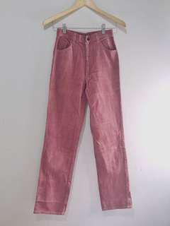 Celana Highwaist Pink