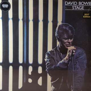 David Bowie - Stage 3lp vinyl limited edition