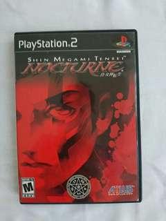 Original Disc PS2 Shin Megami Tensei III Nocturne