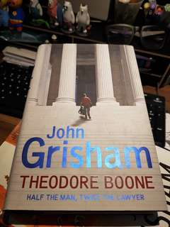 John Grisham- Theodore Boone ( Half the man, twice the lawyer)