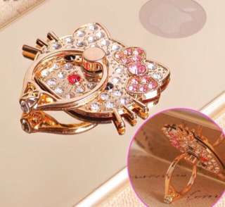 Hello Kitty Finger Ring/Mobile Stand