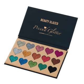 Beauty Glazed Pressed Glitter palette