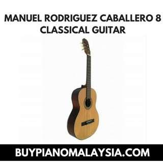 MANUEL RODRIGUEZ CABALLERO 8 CLASSICAL -GUITAR