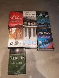 John Grisham Fiction Books