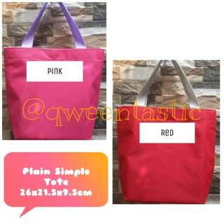 PERSONALIZED - PLAIN SIMPLE TOTE
