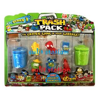 TRASH PACK GROSS GANG GARBAGE TOY FIGURES