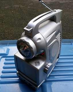 Portable TV radio手提電視收音機