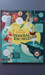 BN Usborne Big Picture Book General Knowledge