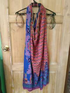 FOR SALE Malong/Patadyong costume