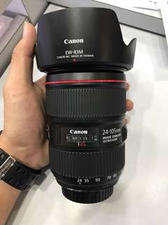 Canon 24-105mm F4 L IS II USM LENS VER.2