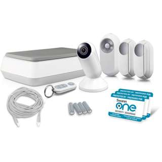 CCTV - Swann SWO-VMM01K SwannOne Video Monitoring Kit (White)
