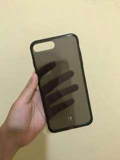kura softcase grey case iphone 7+