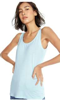 Scoop neck tank by pomelo fashion