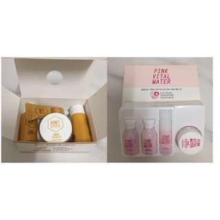 Etude House Honey Cera Kit & Pink Vital Water Kit