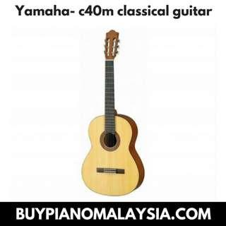 YAMAHA- C40M CLASSICAL GUITAR