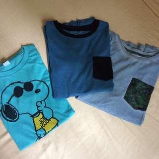 3 shirts (bundle)
