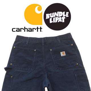 CARHARTT DOUBLE KNEE DUNGAREE FIT MADE IN USA