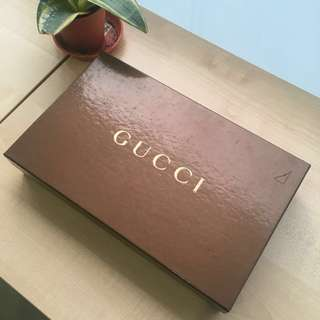 Preloved Gucci Brown GG Monogram Canvas Pochette Cosmetic Bag