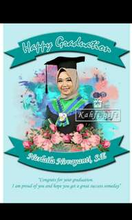 Design foto weeding, graduation, party or birthday